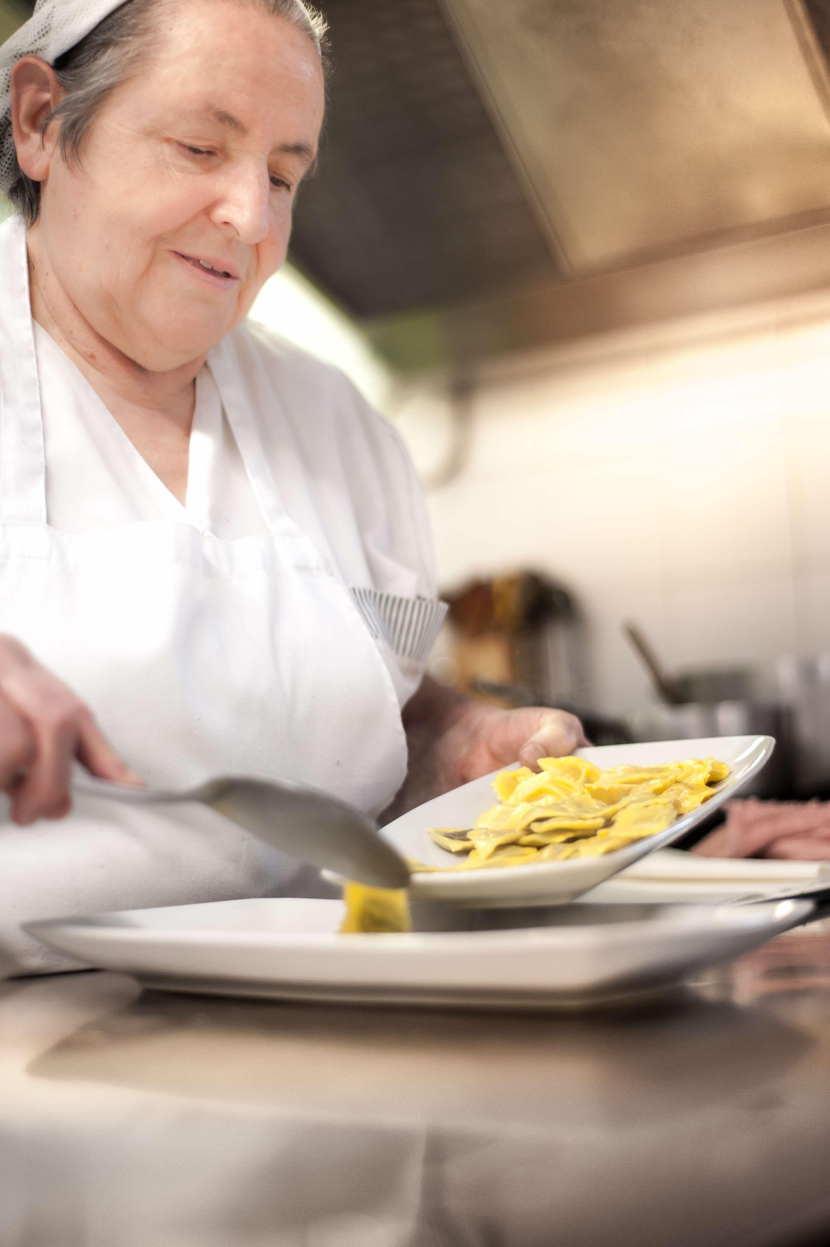 La cuoca - Osteria della Capra